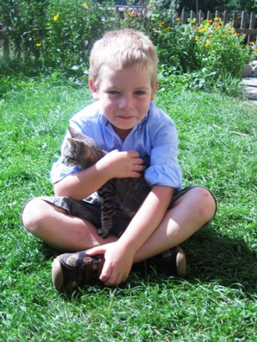 radfahren Kinder am Hof, Ökohof