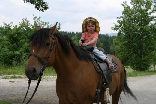 Wanderwege, Trampolin, Ökohof, Pony-reiten