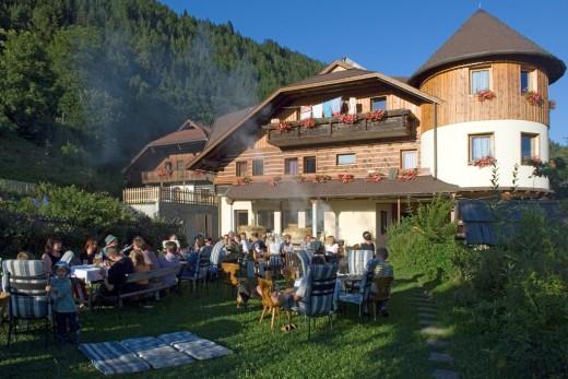 Gesellige Abende, Kärntner Küche, bio, Ferien in den Bergen