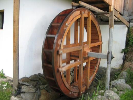 Biohof, Blumenwiese, Biohof-Urlaub, Wassermühle