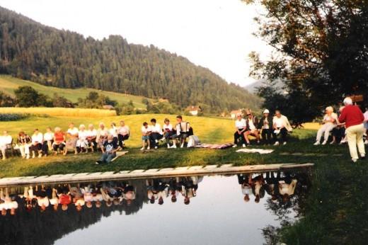 Ferien am See, österreichische Küche, vollwertig, Natur