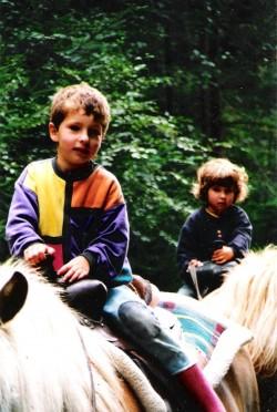 Biohof, Tiere, Wanderwege, Familie