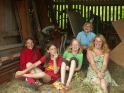 Bauernhofurlaub, reiten, Badeteich, Karussell