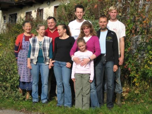 Am See, romantisch ökologisch, Kühe, Biohof
